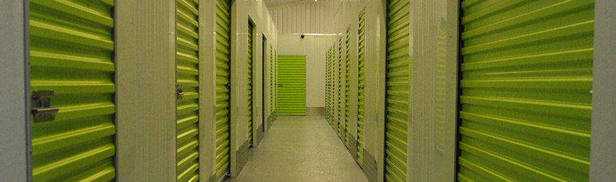 Storage units at Woodlands Self Store